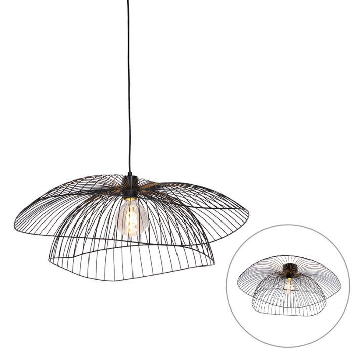 Design-hanglamp-zwart-66-cm---Pua