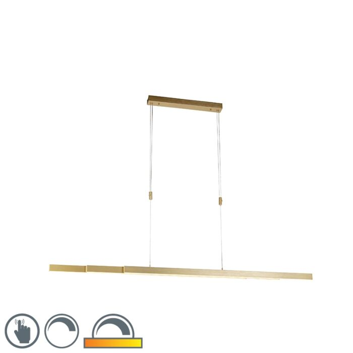 Verstelbare-hanglamp-messing-dim-to-warm-incl.-LED---Juliet