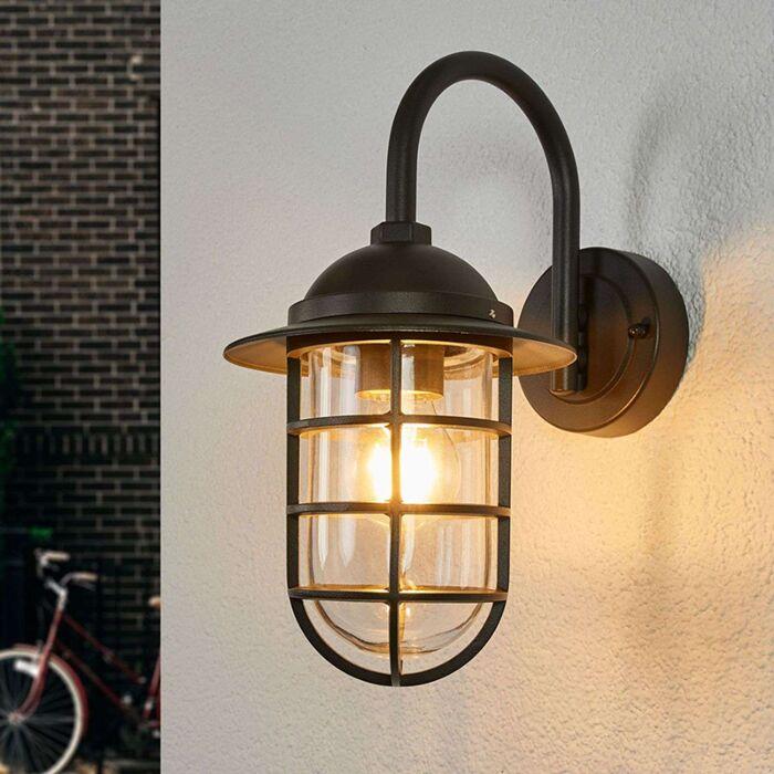 Landelijke-buitenlamp-antraciet---Naila