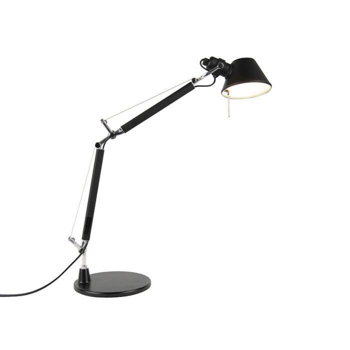 Tafellamp-zwart-40-cm---Artemide-Tolomeo-Tavolo-Micro
