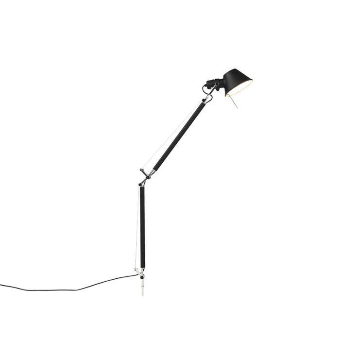 Design-tafellamp-zwart-body---Artemide-Tolomeo-Tavolo