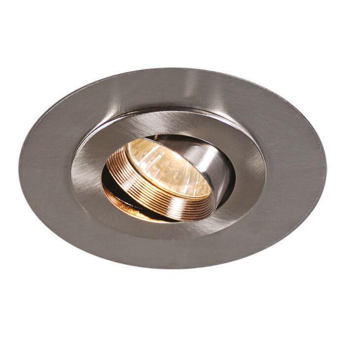 Design-inbouwspot-staal---Easy-met-extra-grote-RVS-ring