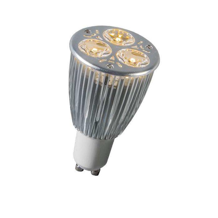 GU10-Power-LED-3-x-2W-warm-wit-DIMBAAR