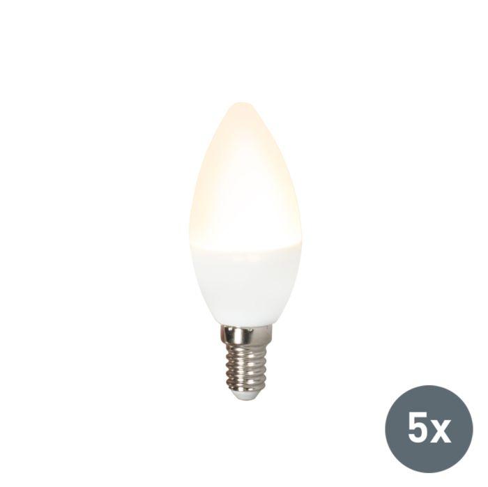 Set-van-5-LED-lamp-C37-E14-3W-3000K