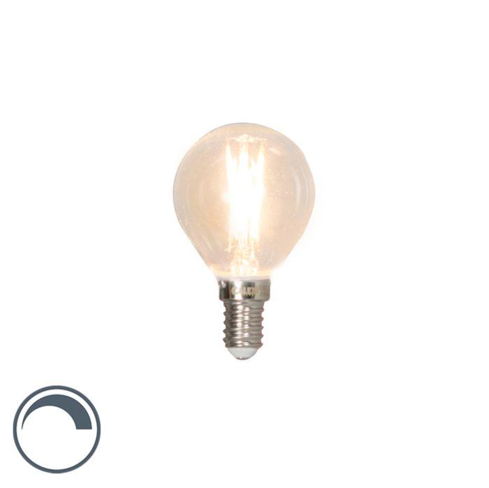 E14-dimbare-LED-filament-kogellamp-3W-350lm-2700K