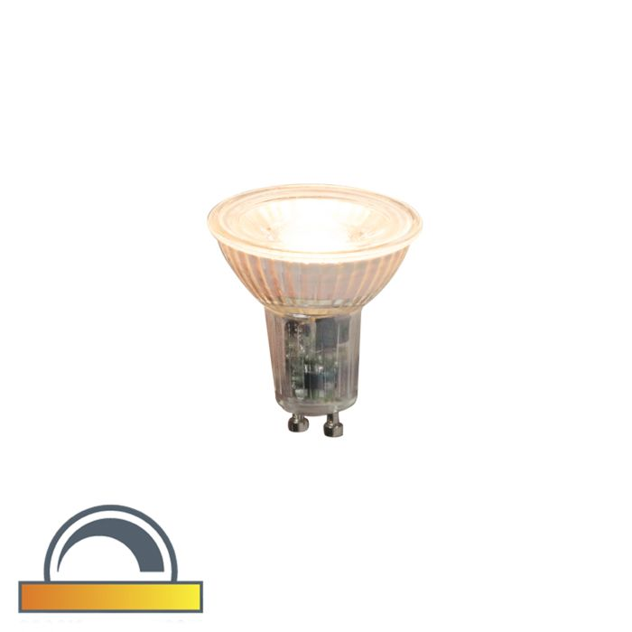 LED-lamp-GU10-240V-5,5W-360lm-Dim-to-Warm