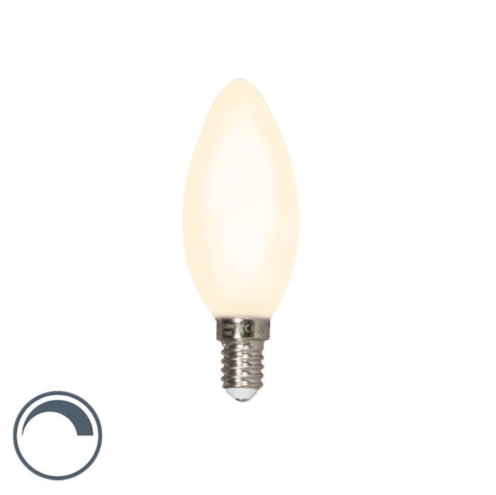 LED-kaarslamp-E14-240V-3,5W-300lm-dimbaar