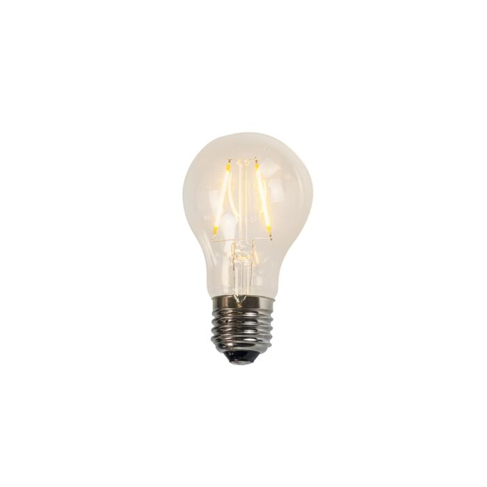 Filament LED lamp A60 2W 2200K helder