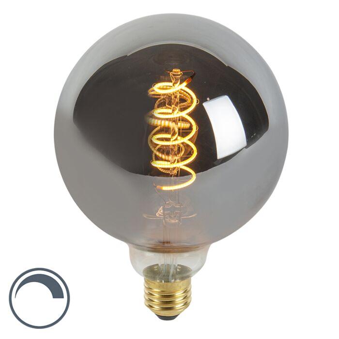 LED-filament-E27-G125-4W-100-lumen-warm-wit-2100K-dimbaar