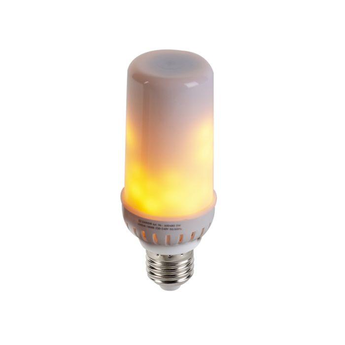 LED-E27-retrofit-5W-vlameffect-sfeer