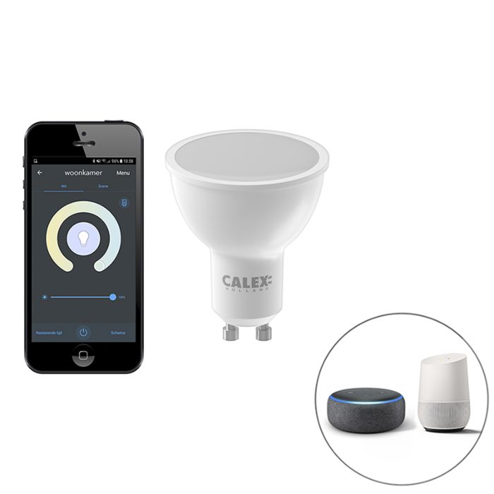 Smart-GU10-dim-to-warm-LED-lamp-5W-350-lm-2200-4000K