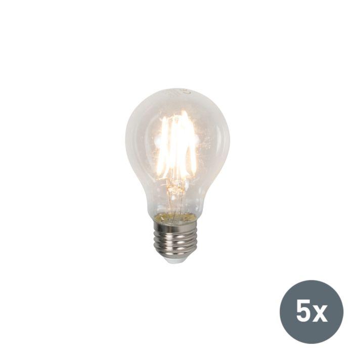 Set-van-5-LED-lamp-E27-4W-400-lumen-warm-wit
