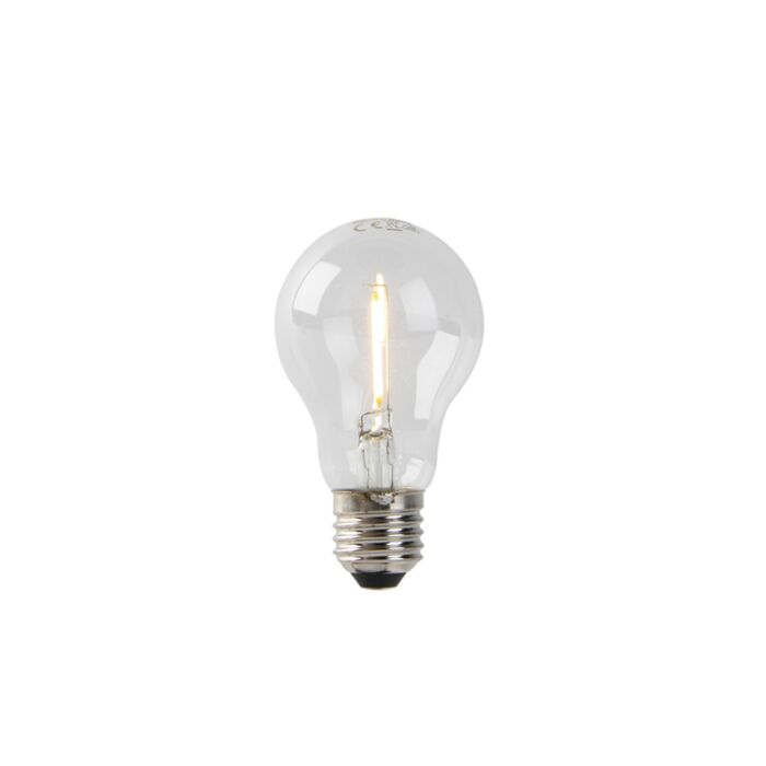 LED-lamp-A60-E27-1W-2200K-helder-filament