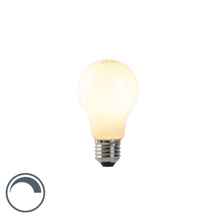 LED-lamp-A60-E27-7W-2200K-opaal-flame-filament-dimbaar