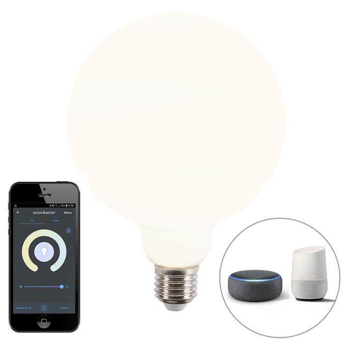 Smart-E27-dimbare-LED-globe-filament-lamp-met-app-1055-lm-2200-4000K