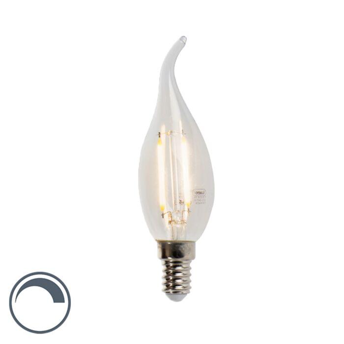 E14-dimbare-LED-filament-kaarslamp-3W-2700K-250-lm
