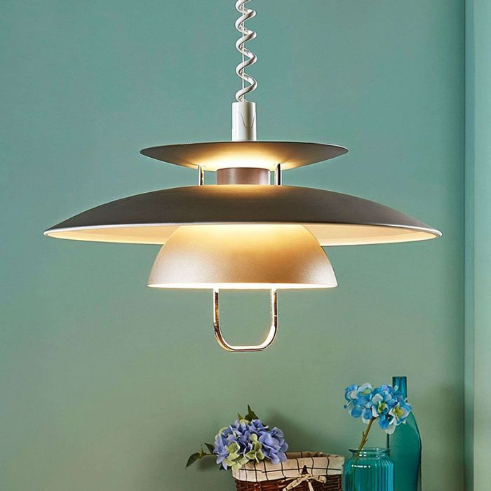 Scandinavische-hanglamp-grijs-incl.-E27-LED---Nadija