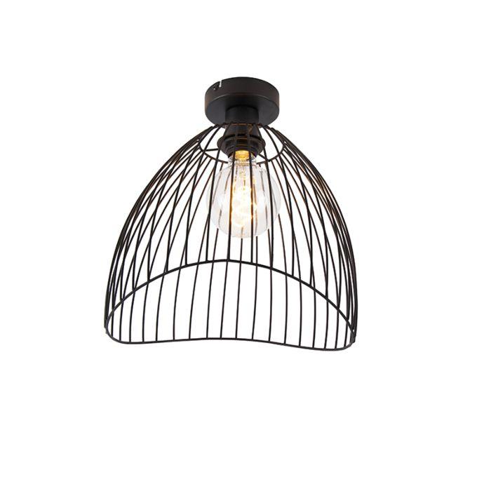 Design-plafondlamp-zwart-29-cm---Pua
