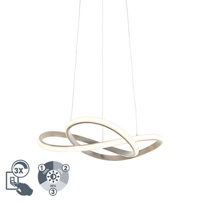 Design-hanglamp-staal-incl.-LED-3-staps-dimbaar---Ruta