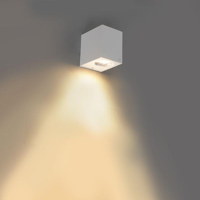 Moderne-wandlamp-wit-IP44---Baleno-I