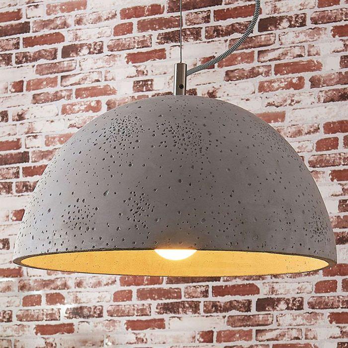 Industriële-hanglamp-beton---Jelin