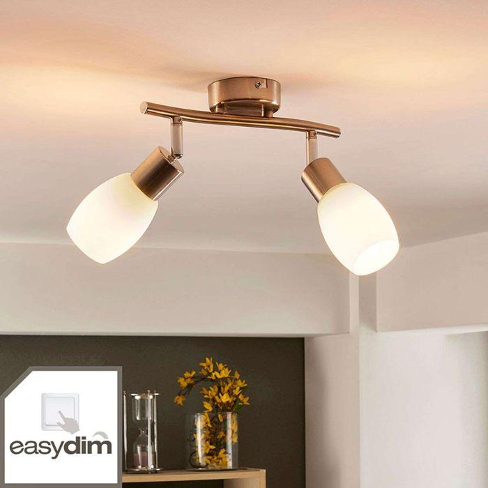 Plafondlamp-chroom-incl.-E14-en-easydim-2-lichts-verstelbaar--Arda