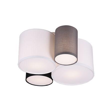 Design-plafonnière-multicolor-4-lichts---Sectos