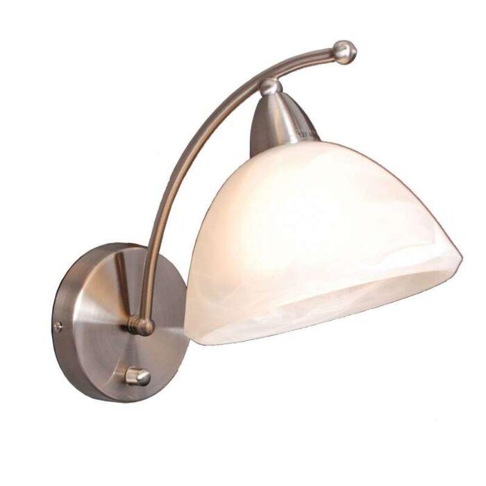 Wandlamp-Firenze-staal