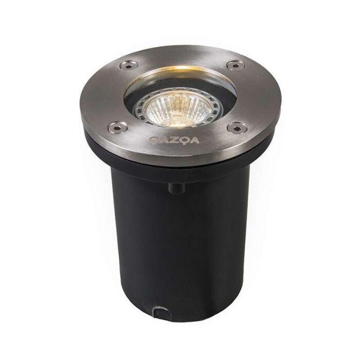 Grondspot-staal-IP65---Basic-Round