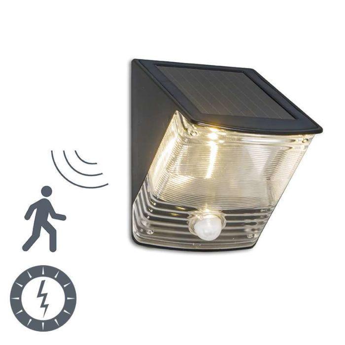 Buitenlamp Dark LED met bewegingsmelder op zonne energie