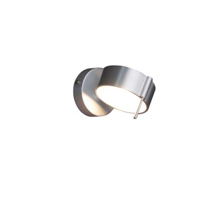 Wandlamp-Eye-1-aluminium