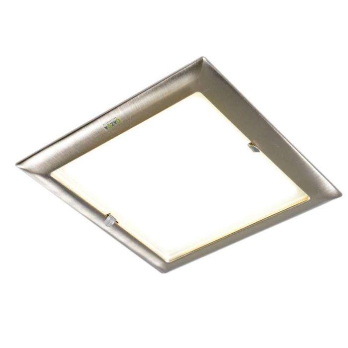 Inbouwspot-vierkant-staal---Doblo