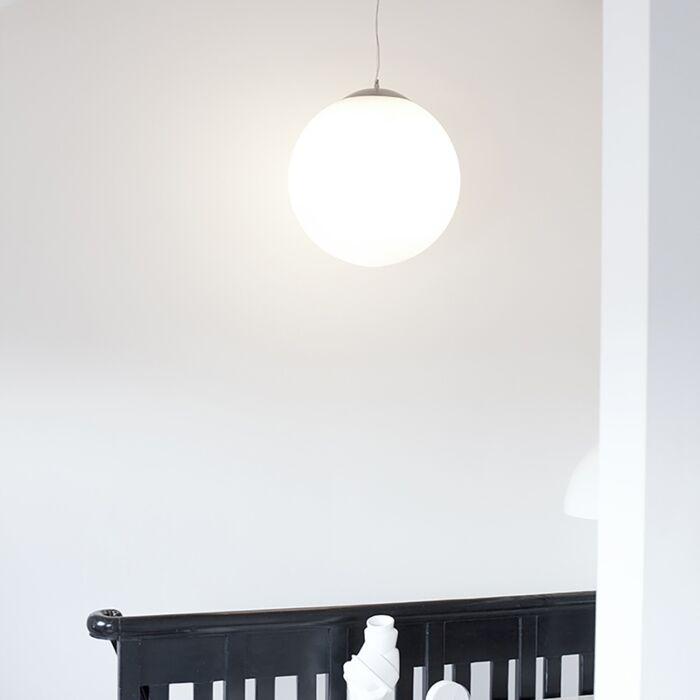 Moderne-hanglamp-glas-50cm---Ball