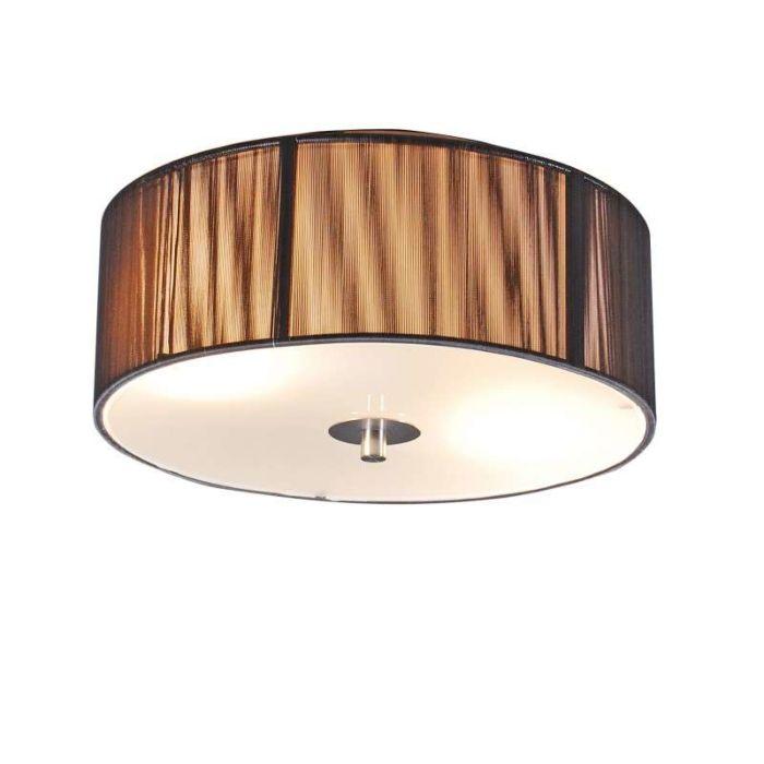 Plafondlamp-Rope-rond-30-antraciet