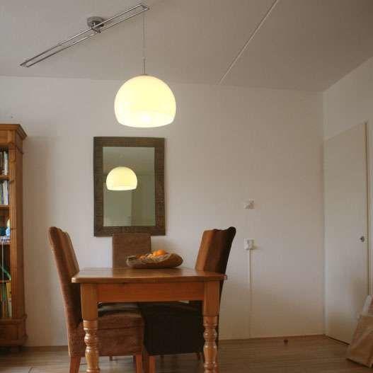 Hanglamp-Decentra-Delux-chroom-met-witte-kap