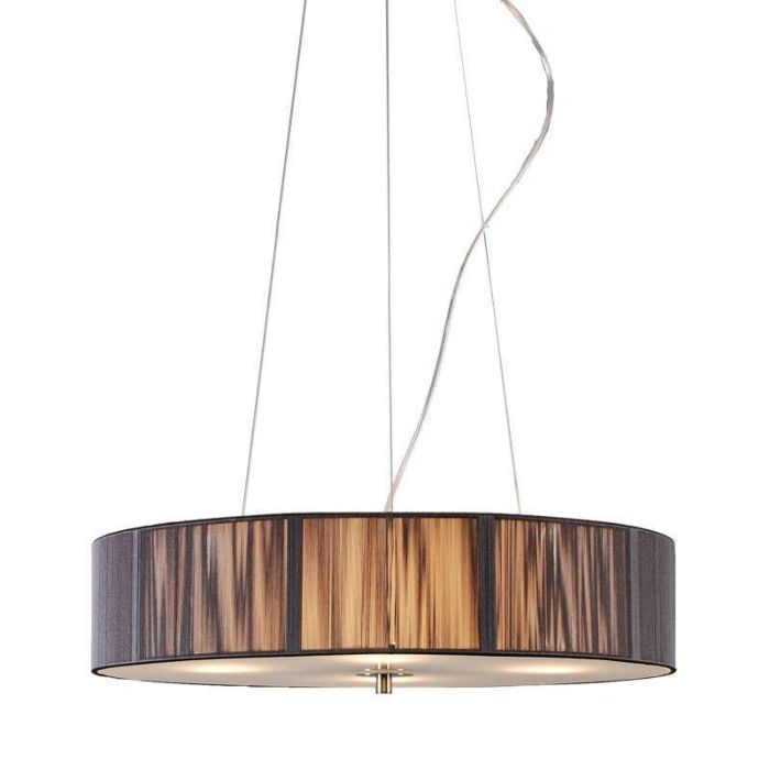 Hanglamp-Rope-rond-50-antraciet