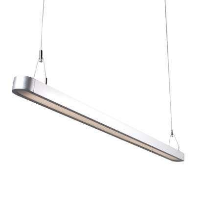 Hanglamp-Tube-U-28W-zilver