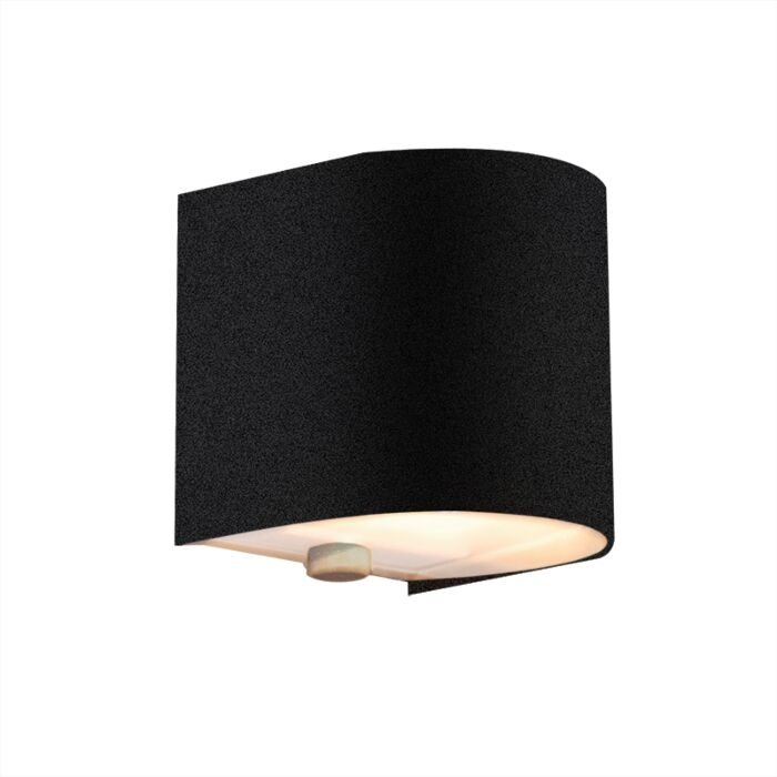 Wandlamp-Torci-zwart