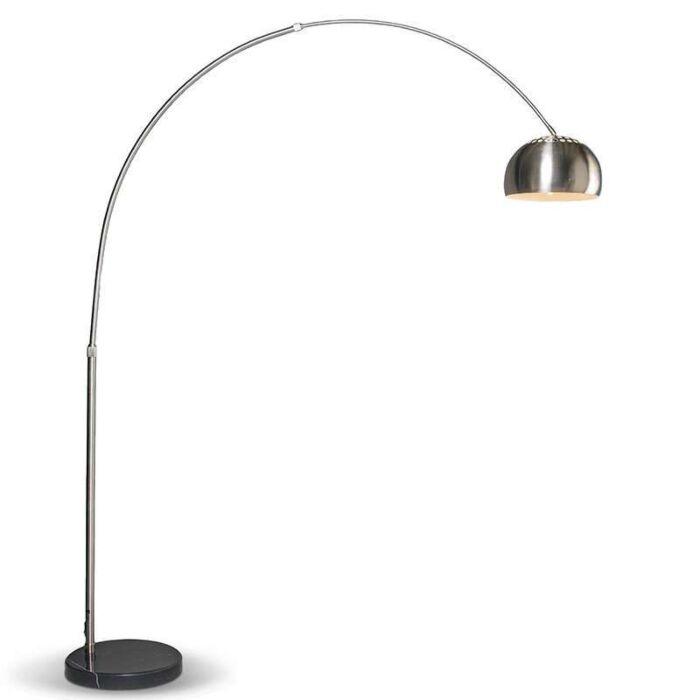Moderne-booglamp-staal-verstelbaar---Grande