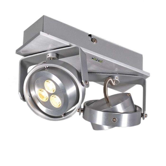 Spot-Keoni-2-LED-aluminium