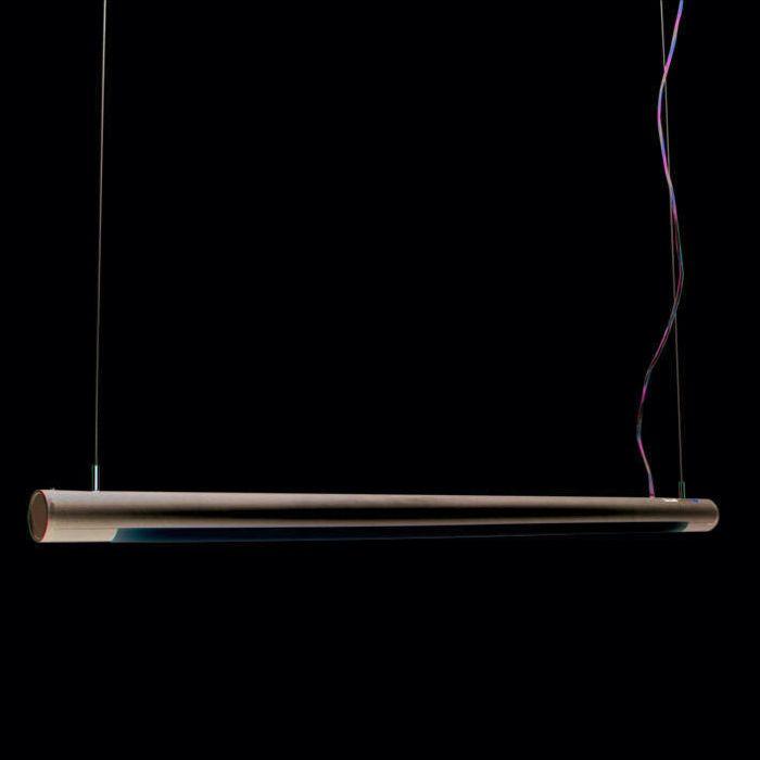 Hanglamp-Tube-O-zilver-28W