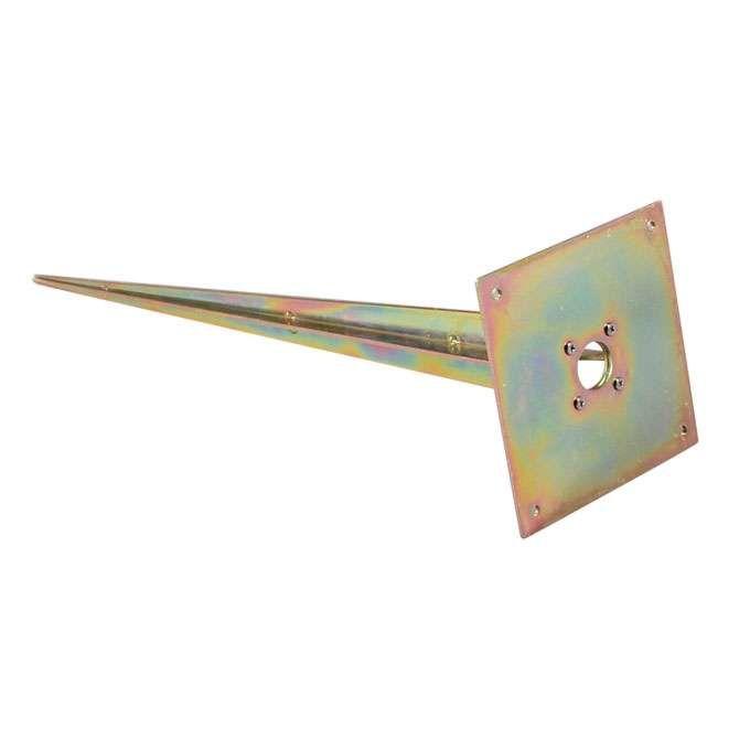 Thermisch-verzinkte-grondpin-vierkant