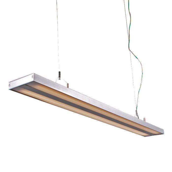 Hanglamp-Tube-S-zilver-2-x-28W