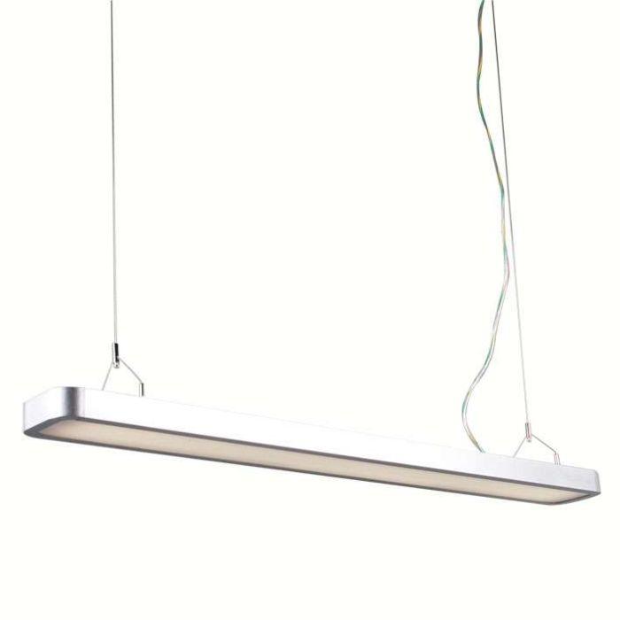 Hanglamp-Tube-U-2-x-28W-zilver