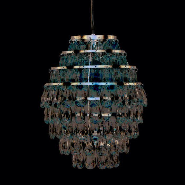 Hanglamp-Pinecone-chroom