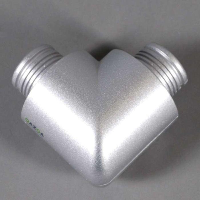 Hoekstuk-90-graden-voor-Tube-O-zilver