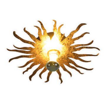 Wand--of-plafondlamp-Cecilio-goud