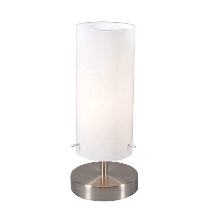 Tafellamp-Boy-1-staal-met-wit-glas