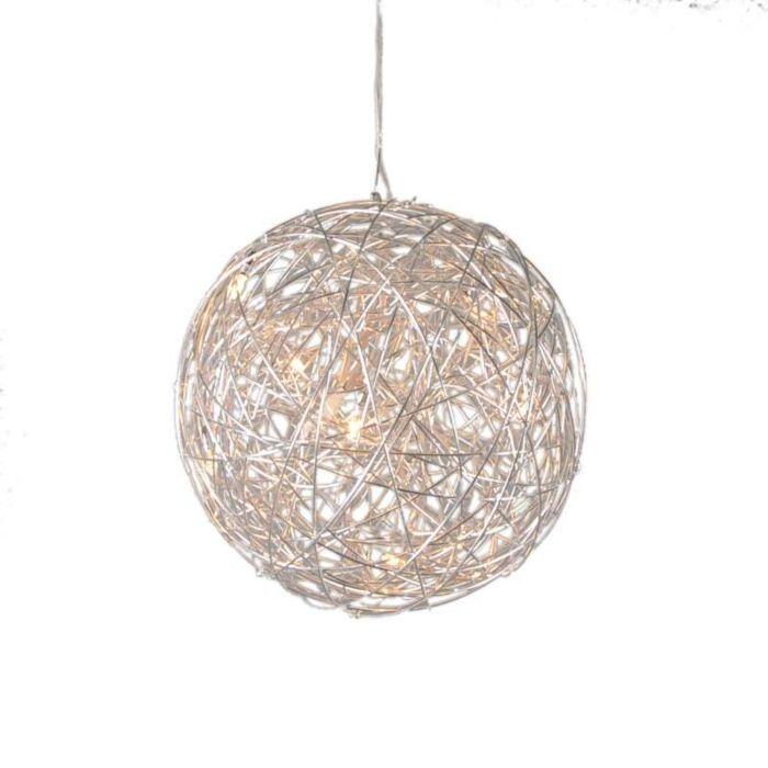 Hanglamp-Draht-bol-40cm-aluminium