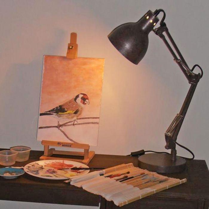 Tafellamp-Mesa-antiek